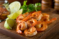 Cajun lime shrimp