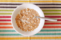 Breakfast cereal w/ almond milk
