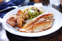 Pan fried tilapia