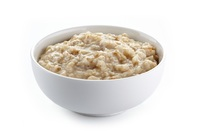 Instant oatmeal with water